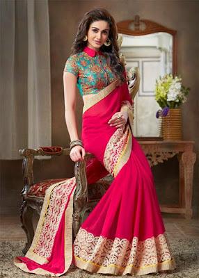 Latest-unique-indian-designer-bridal-saree-collection-for-brides-15