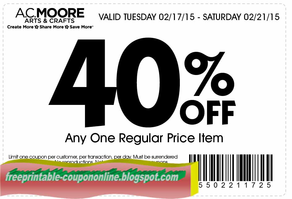 photo about Ac Moore Printable Coupon called Printable discount coupons for ac moore crafts - Reddit sport discounts amazon