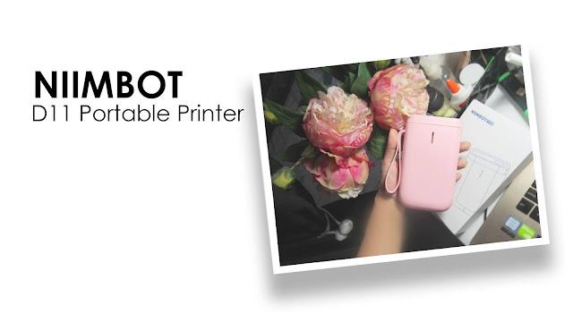 Niimbot D11 Bluetooth Portable Label Maker