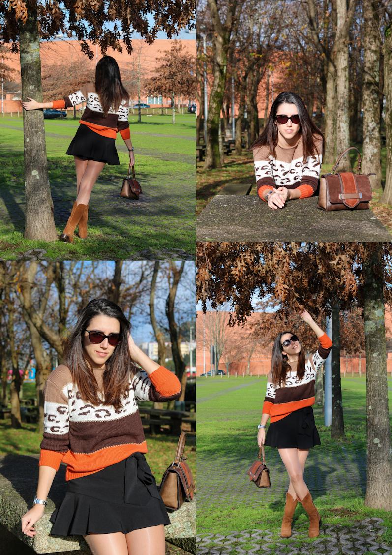 Look Leopard sweater