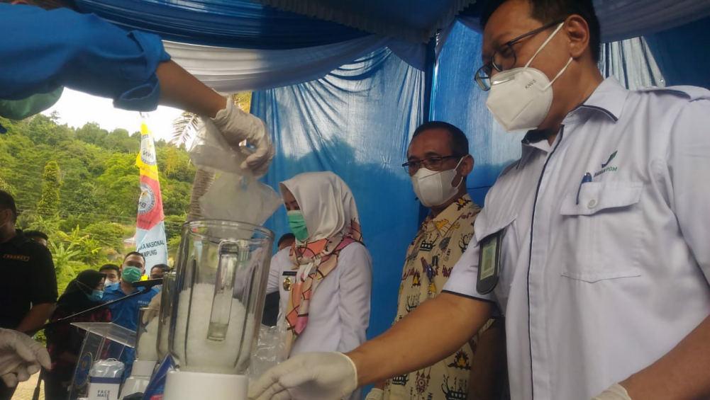 Tersangka Minta Segera Dieksekusi: BNN Provinsi Lampung Musnahkan Sabu 3127,72 Gram