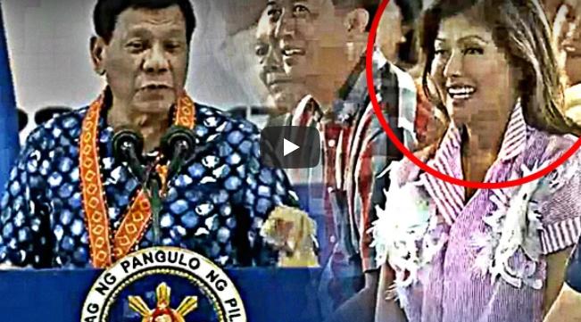 Imee Marcos Huling-huli Sa Kamerang Kilig Na Kilig Sa Hirit Ni Duterte