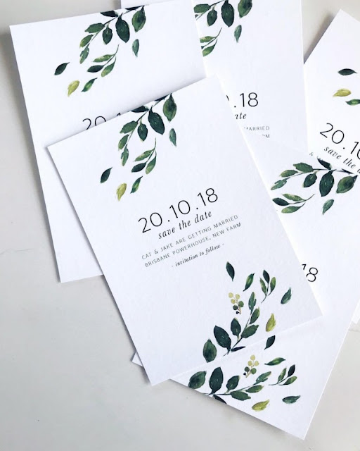 BRISBANE WEDDING STATIONERY INVITATIONS SIGNAGE DECOR