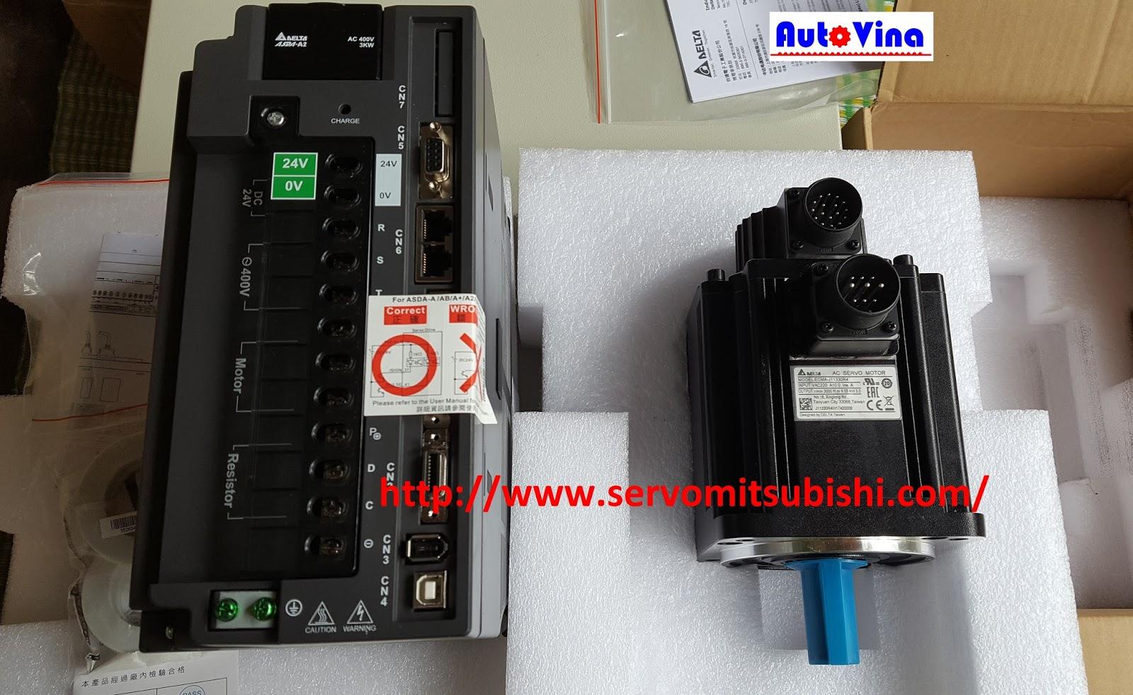 Nhà phân phối, tổng đại lý bán AC Servo Delta ASD-A2-3043-M, ECMA-J11330R4