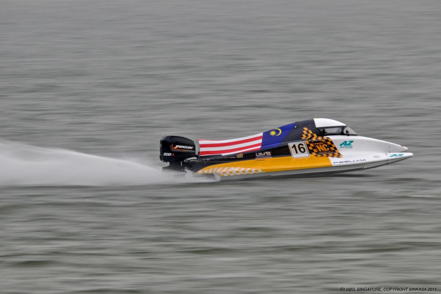Through The Lens Of Sinkasa F1 H2o Powerboat Racing