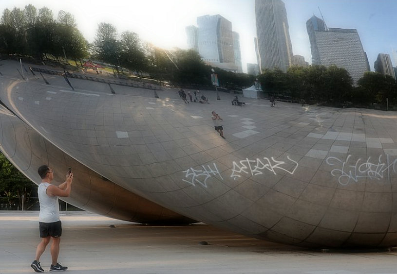 7 arrested after The Bean, Maggie Daley, cancer survivor, vandalized during the night
