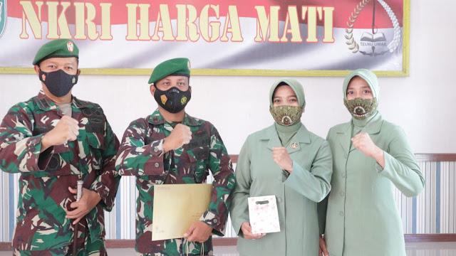 Upacara Korp Raport Pelepasan Pasi lntel Di Pimpin Langsung Oleh Dandim 0105/Abar