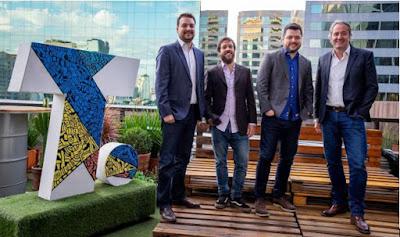 Da esquerda para direita: Samuel Sabbag, Mauro Borges, Sandor Romanelli e Gilberto Corazza - Divulgação