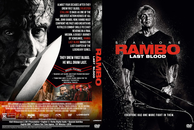 Rambo: Last Blood DVD Cover