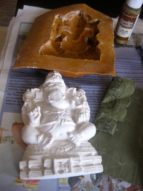 Brewing thoughts over a cuppa coffee: Made Ganesha Idol This