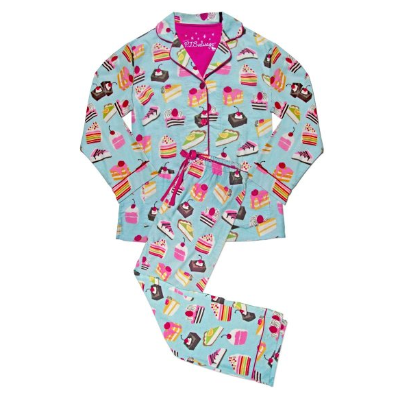 PJ Salvage 'Fall into Flannel' cake party flannel pajamas