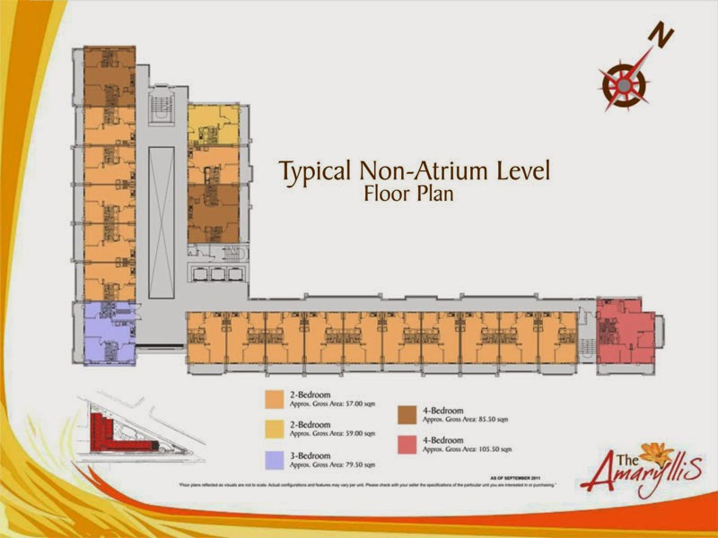 The Amaryllis Non-Atrium Floor Plan