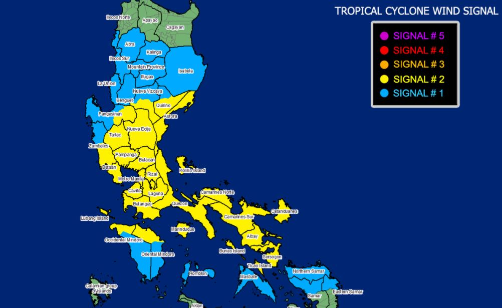 'Bagyong Ulysses' PAGASA weather update November 11, 2020