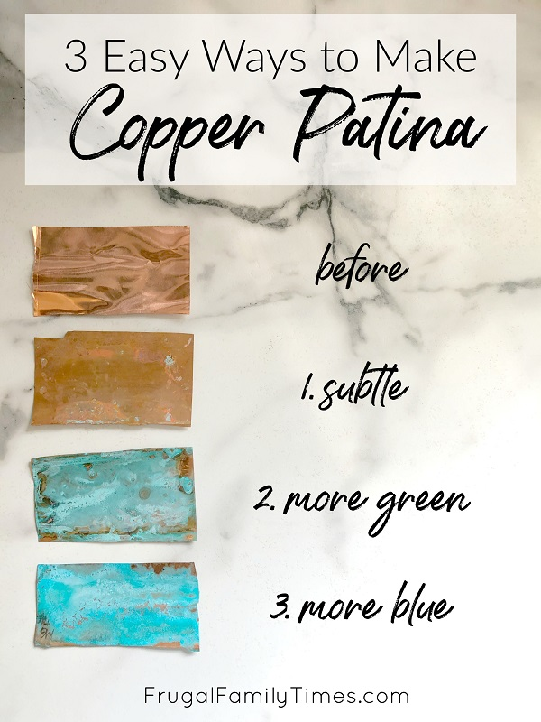 copper patina recipe