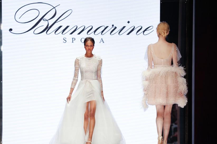 d3bd0bfb12d8 Abiti da sposa originali  5 trend dalla sfilata Blumarine e ...