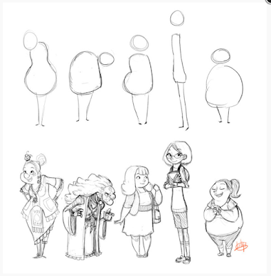 shapes-character-design