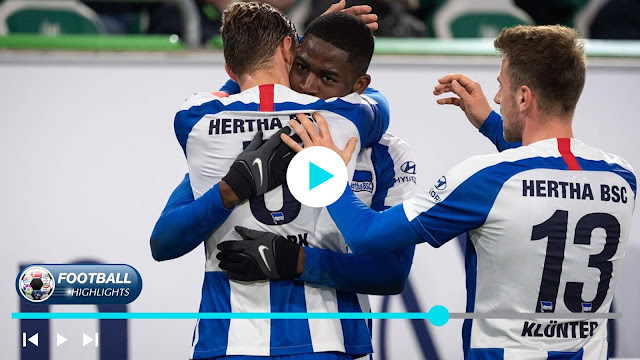 Wolfsburg vs Hertha BSC – Highlights