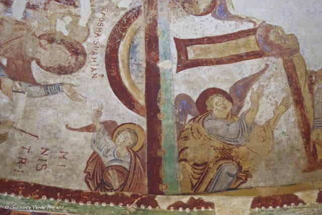 Monasterio de San Juan de la Peña - Frescos románicos, por El Guisante Verde Project