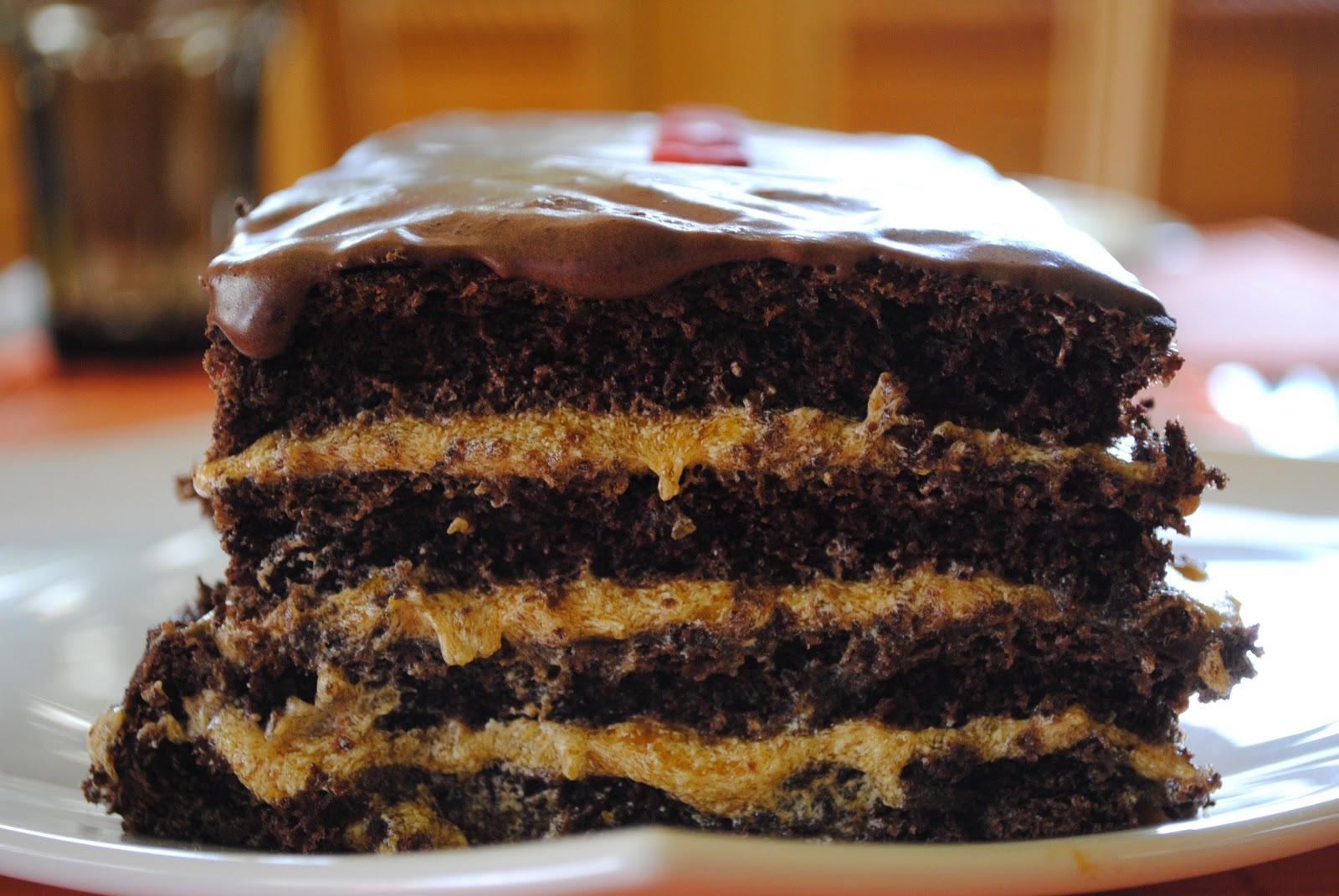 beti vanilla 4 layer chocolate pumpkin cake