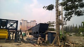 Bor pile di Bekasi