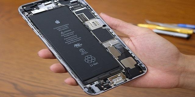 thay pin iphone 6 chính hãng tại Maxmobile