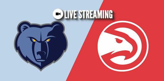 LIVE STREAMING: Memphis Grizzlies vs Atlanta Hawks 2018-2019 NBA Season