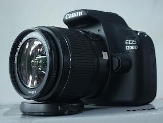 Kamera Canon Eos 1200D Fullset
