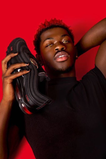 """Nike sues company that partnered with Lil Nas X for his """"Satan Shoes"""" with human blood in soles(Photos)"""