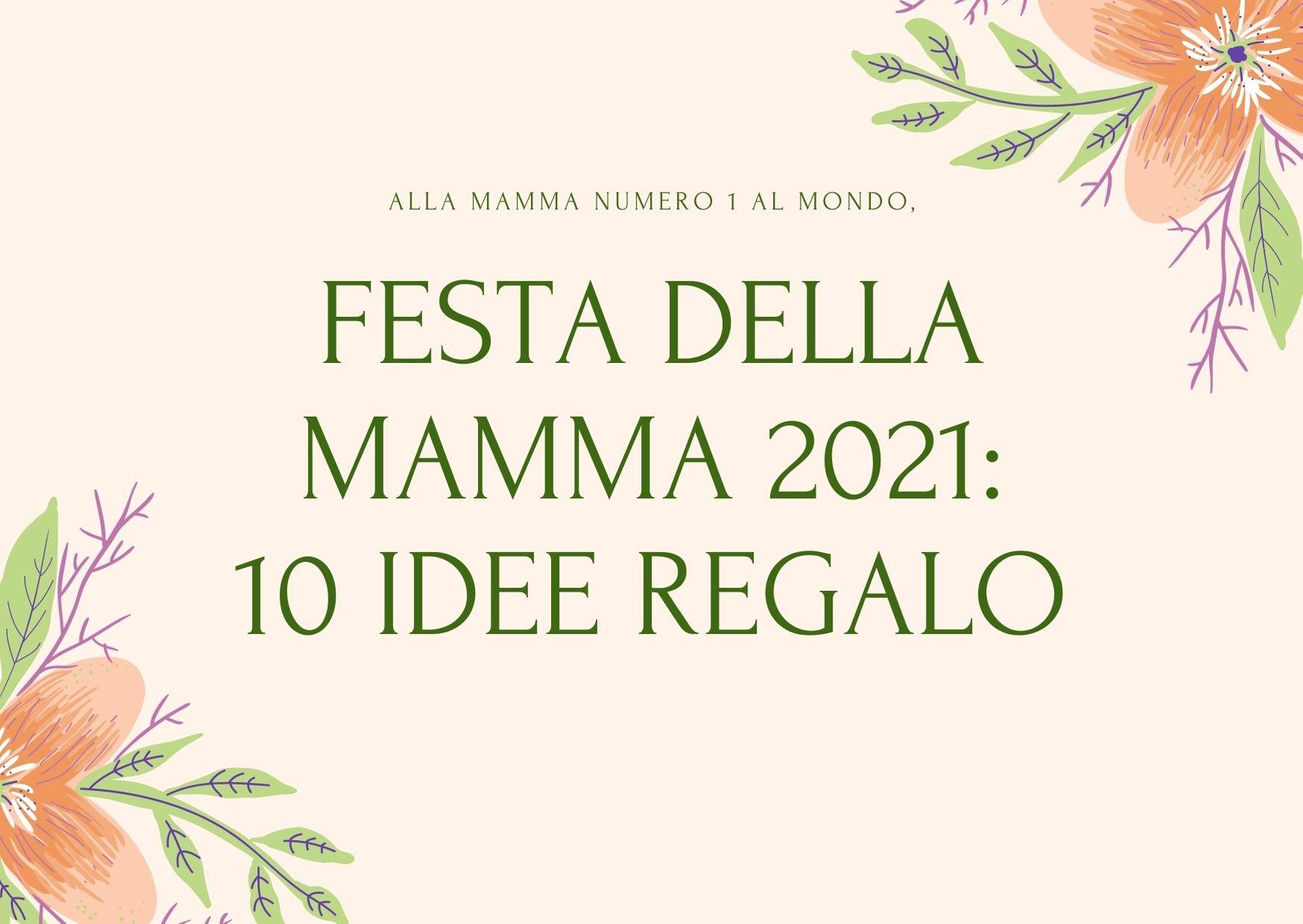 scritta festa della mamma