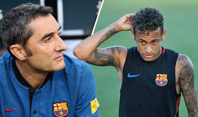 Tin HOT bóng đá sáng 31/8: Valverde quyết kín tiếng vụ Neymar