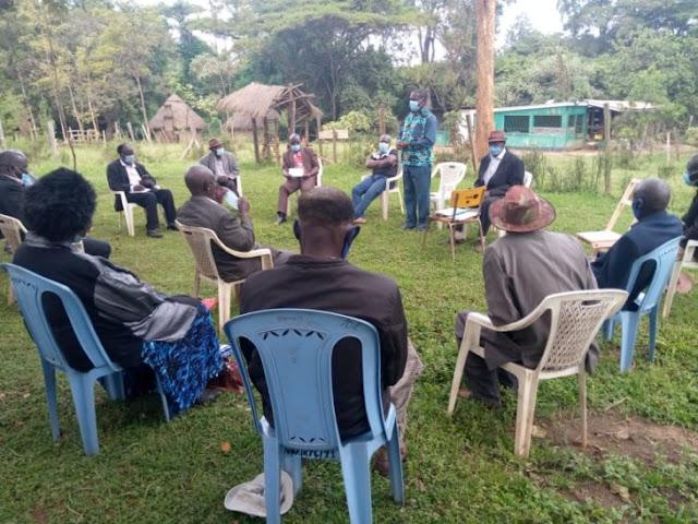 Bukusu Council of Elders establishing the tribunal court photo