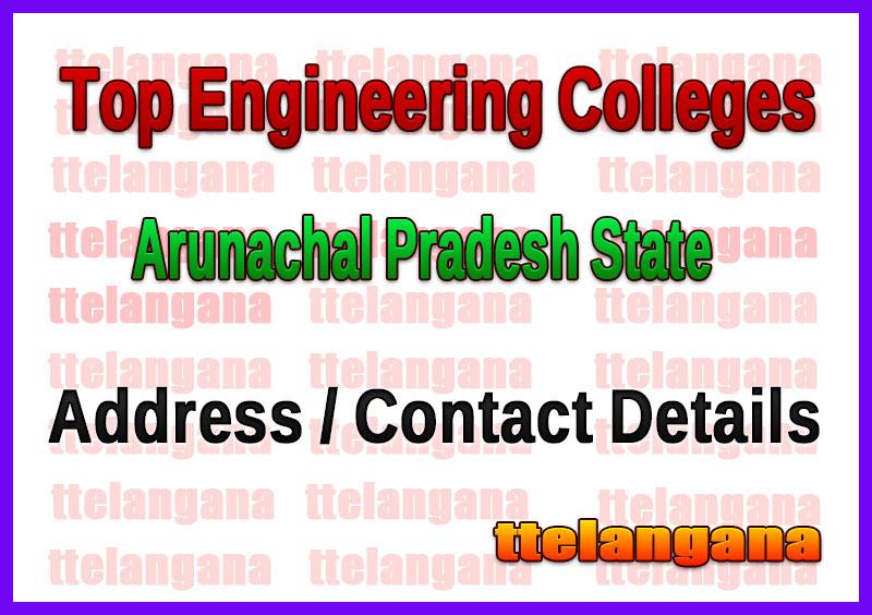 Top Engineering Colleges in Arunachal Pradesh