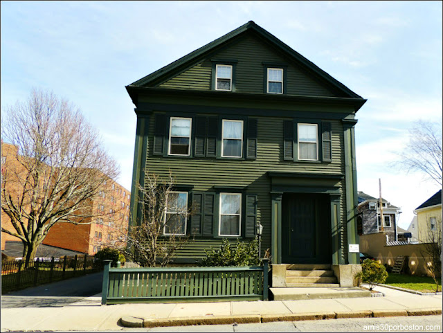 Casa de Lizzie Borden en Fall River, Massachusetts