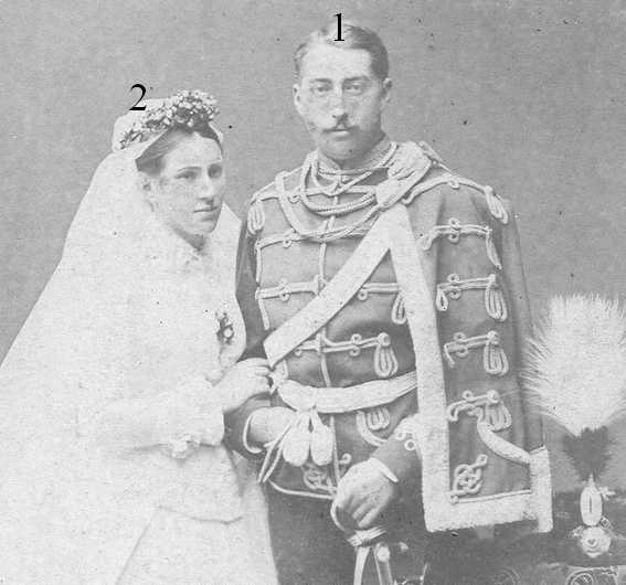 Otto Victor erbprinz von Schönburg-Waldenburg Lucie geb. Prinzessin zu Sayn-Wittgenstein-Berleburg