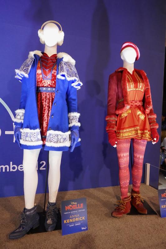Anna Kendrick Disney Noelle film costumes
