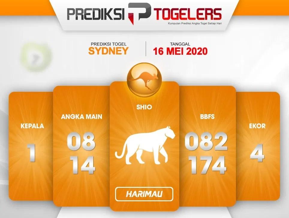 Prediksi Sydney 16 Mei 2020 - Prediksi Togellers