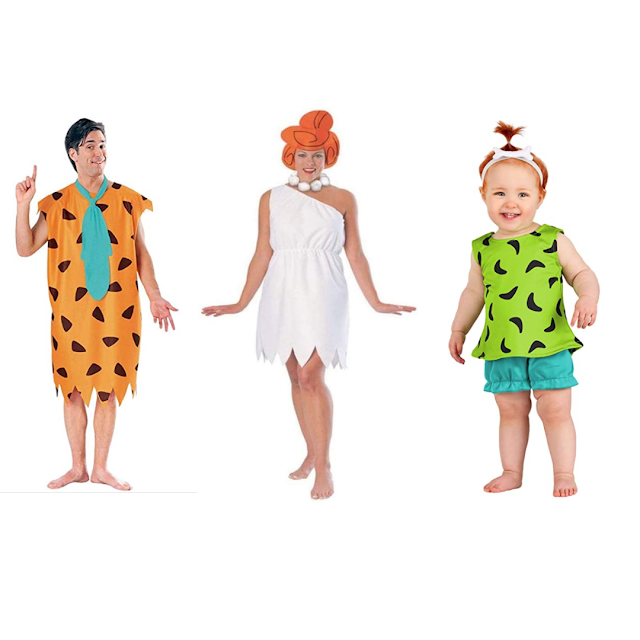 Flintstones Family Halloween Costumes