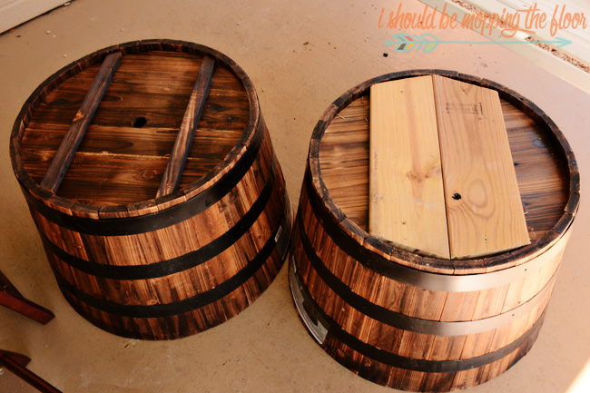 Reinforcing Whiskey Barrels