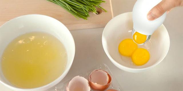 Masker Putih Telur Beda Kombinasi Beda Manfaatnya