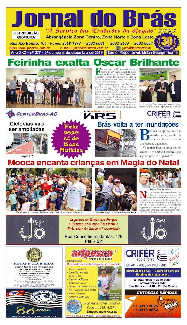 Destaques da Ed. 377 - Jornal do Brás