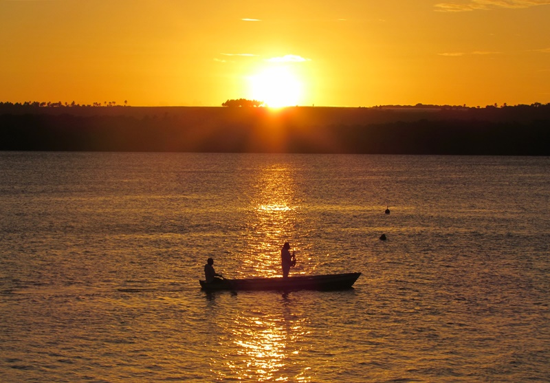 João Pessoa pôr do sol