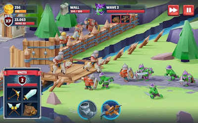 Download Game Mod Offline Game of Warriors MOD APK (Unlimited Money) v1.0.2 Offlline