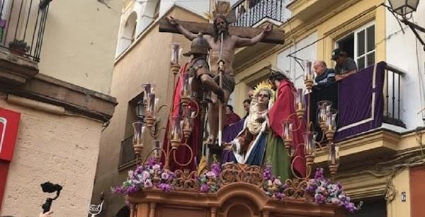 Horario y recorrido de la procesión extraordinaria de las Siete Palabras de Cádiz