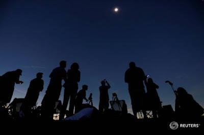 Güneş Tutulması, ABDde Güneş Tutulması, 41 Kilometrelik Güneş Tutulması