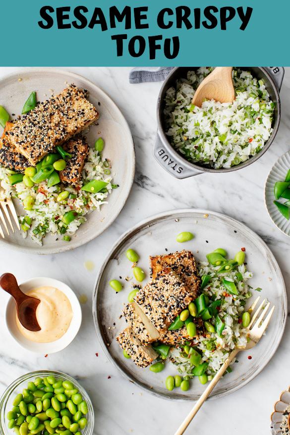 Sesame Crispy Tofu
