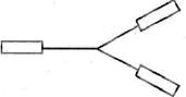 Mengikat neraca pegas pada setiap ujung tali, sehingga membentuk gambar berikut