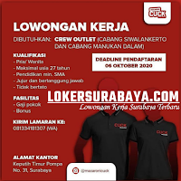 Lowongan Kerja di Makaroni Cuck Surabaya Oktober 2020