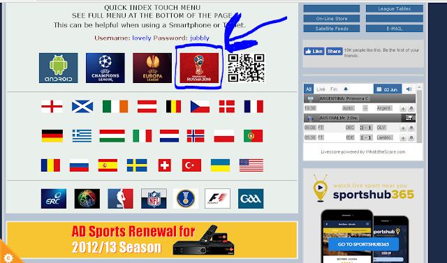 موقع خرافي يعطيك جميع القنوات الناقلة لكأس العالم وتردداتها..شاهد واحكم بنفسك