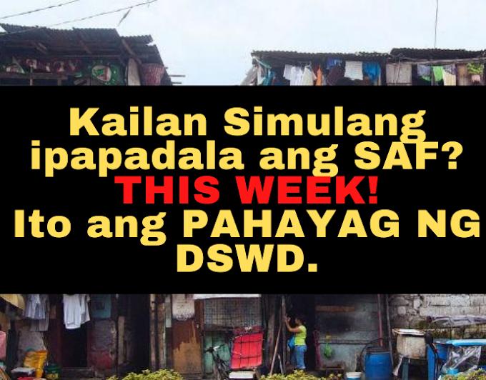 Simula THIS WEEK - Maibibigay ang SAP 2nd Tranche Ayun sa Pahayag ng DSWD