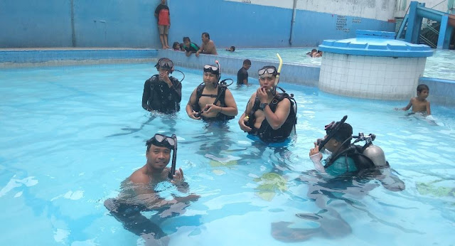 Latihan SCUBA Diving Murah